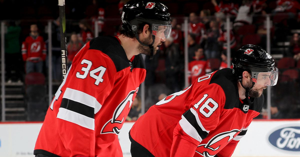 a666251ce6b Outclassed Again  New Jersey Devils Flopped in 1-4 Defeat by the Washington  Capitals