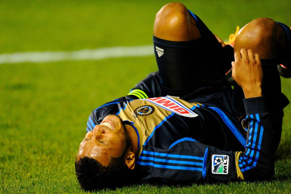 The agony of the 2012 Season. Mandatory Credit: Dale Zanine-US PRESSWIRE