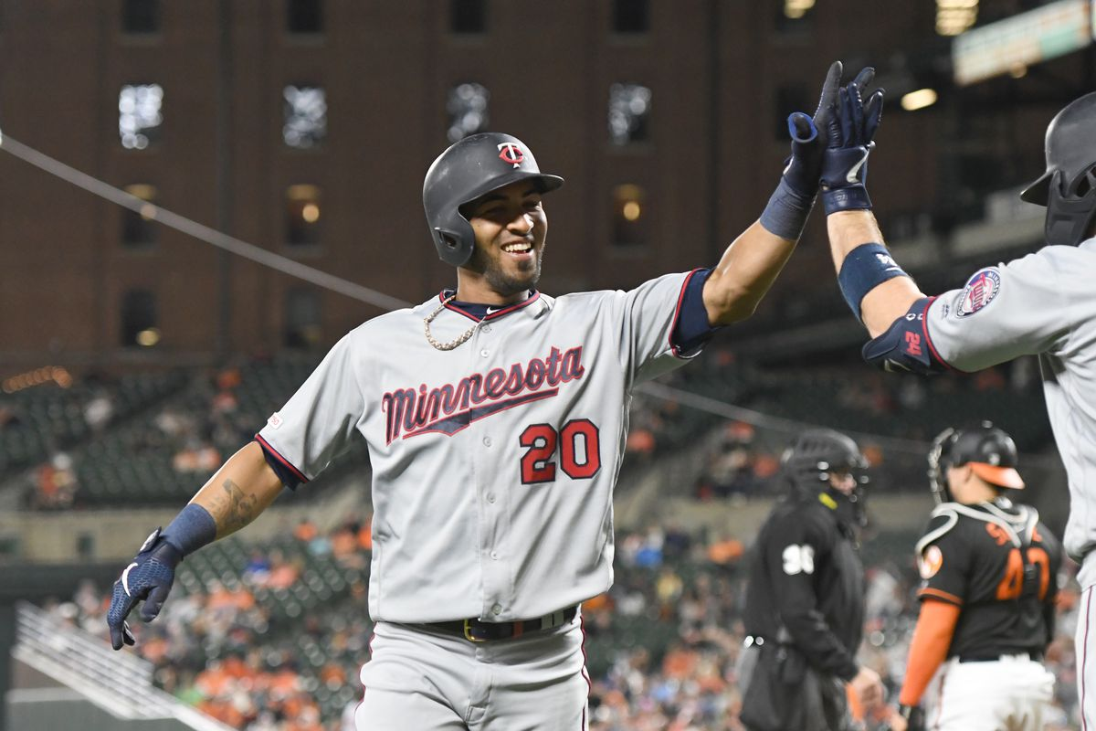 online retailer fd86f c155e Eddie Rosario terrified by Easter Bunny; hits many home runs ...