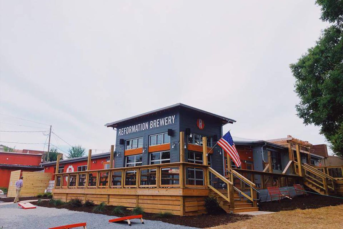 Reformation Brewery Opens Second Location In Woodstock Eater Atlanta