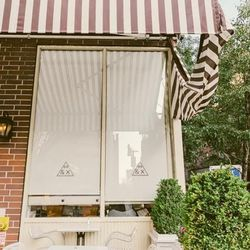 """<b>↑</b>It's hard to miss <b><a href="""" http://www.44andx.com/"""">44 & X</a></b> (622 Tenth Avenue): the restaurant's bright façade pops against its grittier neighbors. Try their one of their takes on comfort food—like poached eggs with Maryland crab cakes,"""