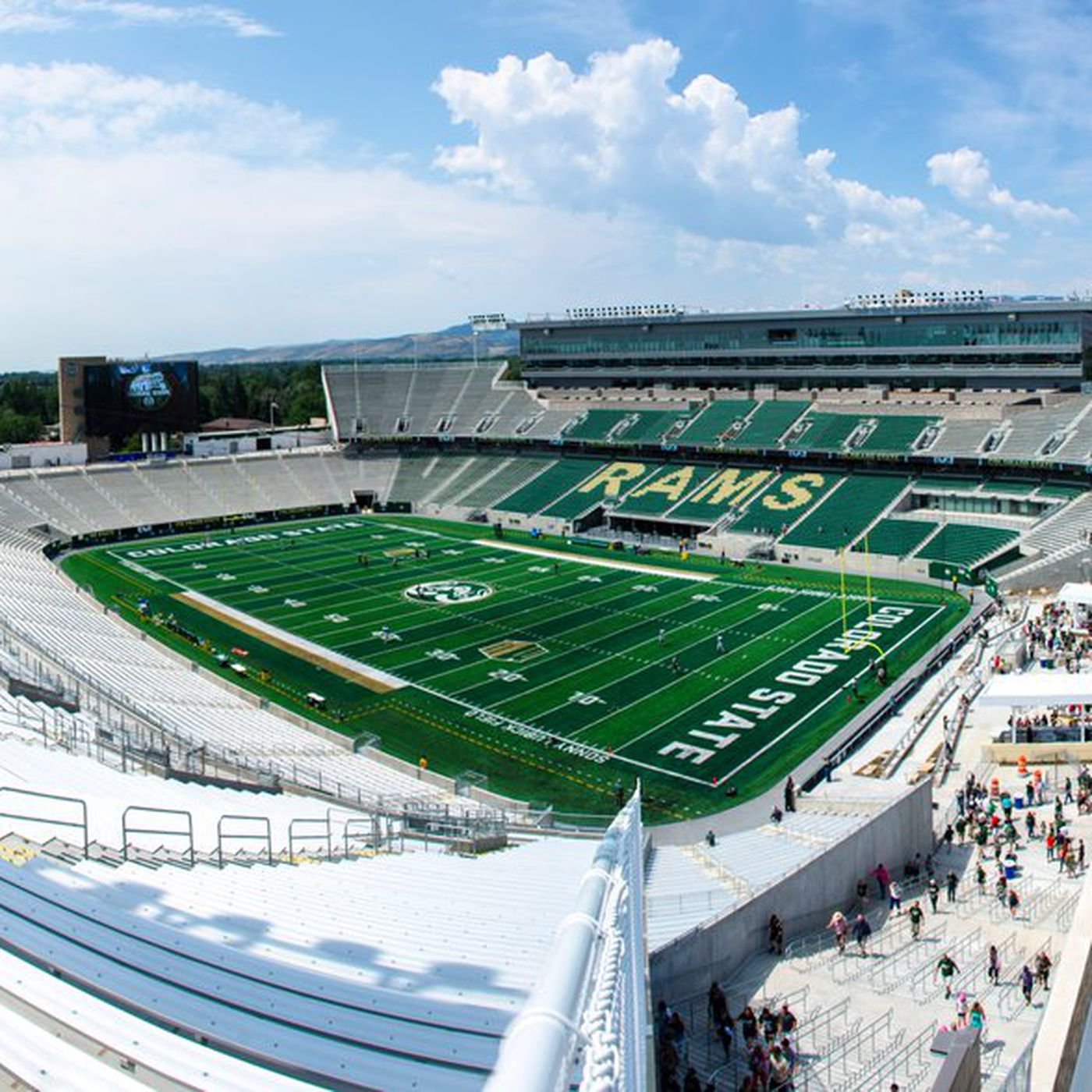Colorado State S New Stadium Is One Of The Prettiest In College Football