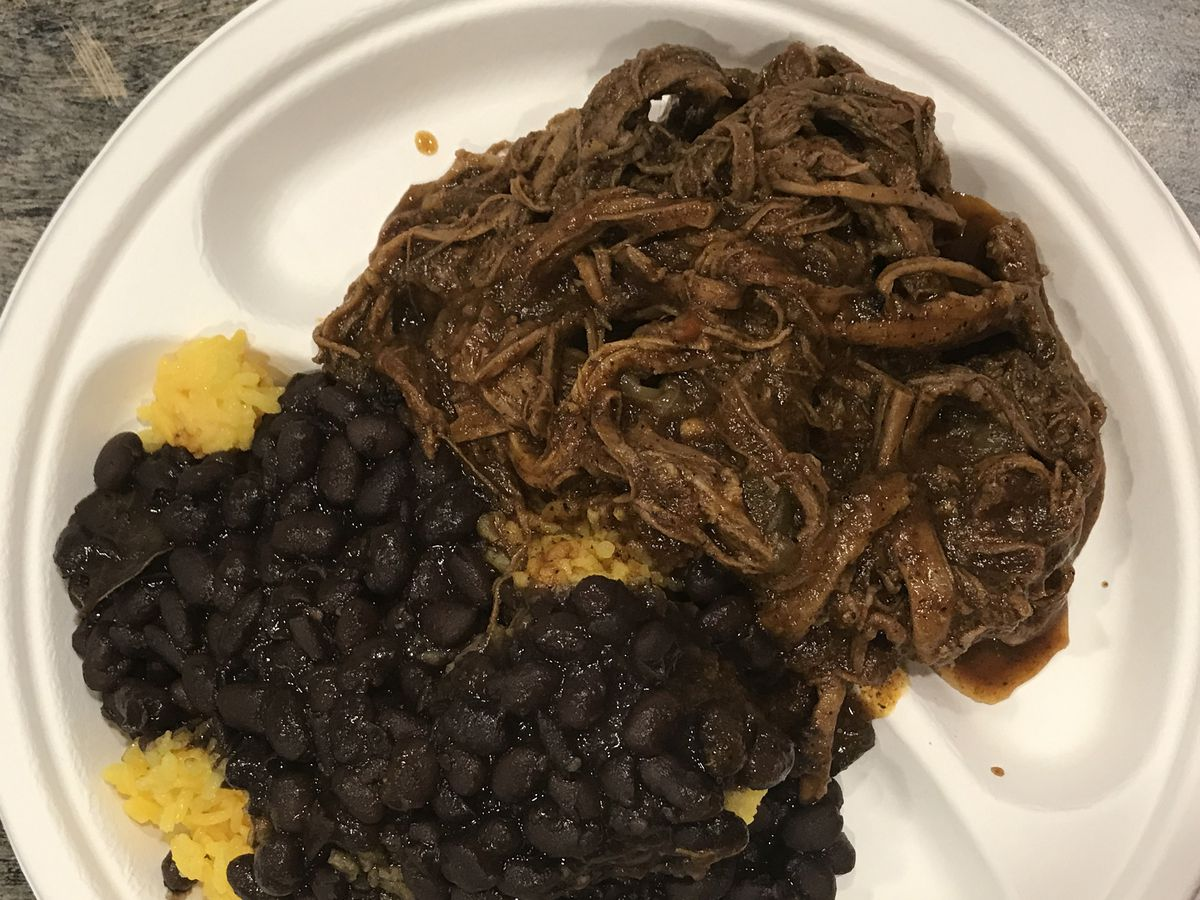 A fast-casual dish at Havana Cafe