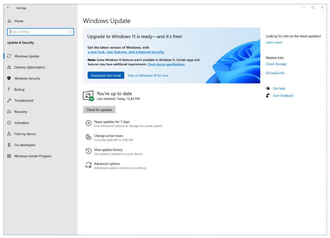 Обновление до Windows 11