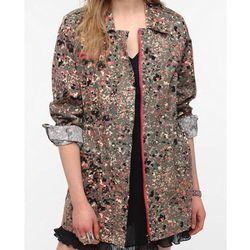 """<b>Numph</b> Paint Splatter Surplus Jacket, <a href=""""Http://babelfair.com"""">$80</a> at Babel Fair"""