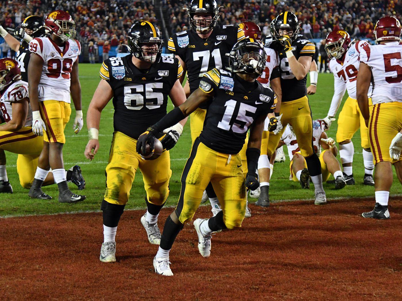 Iowa Football 2020 Position Previews Running Backs Black Heart Gold Pants