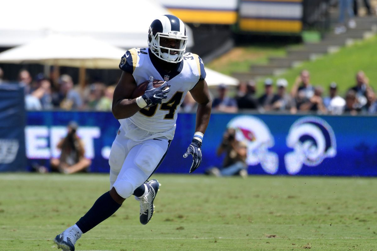 Detroit Lions Offer For Los Angeles Rams Rb Malcolm Brown 2 Years 3 25m