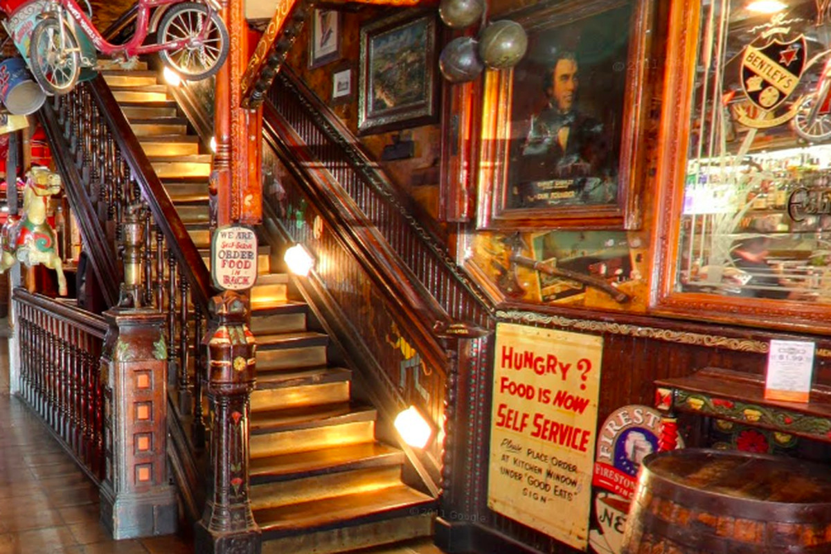 Fanny Ann's Saloon in Old Sacramento.