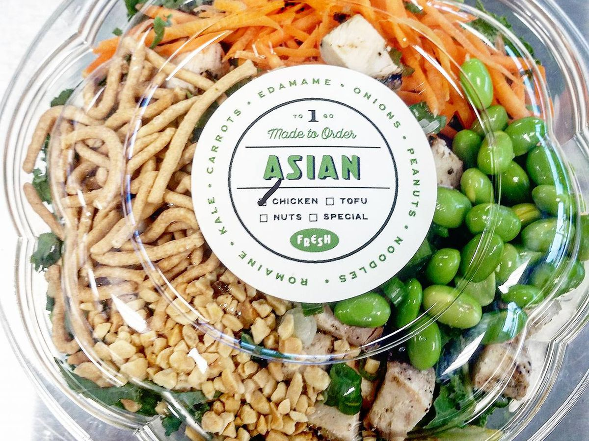 The Asian salad from Baby Greens