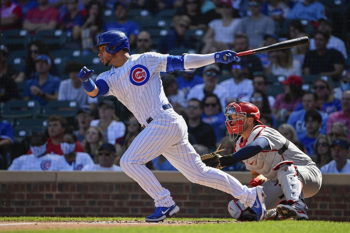 The Cubs placed catcher Willson Contreras on the 10-day injured list before Sunday's 3-2 win over the Cardinals.