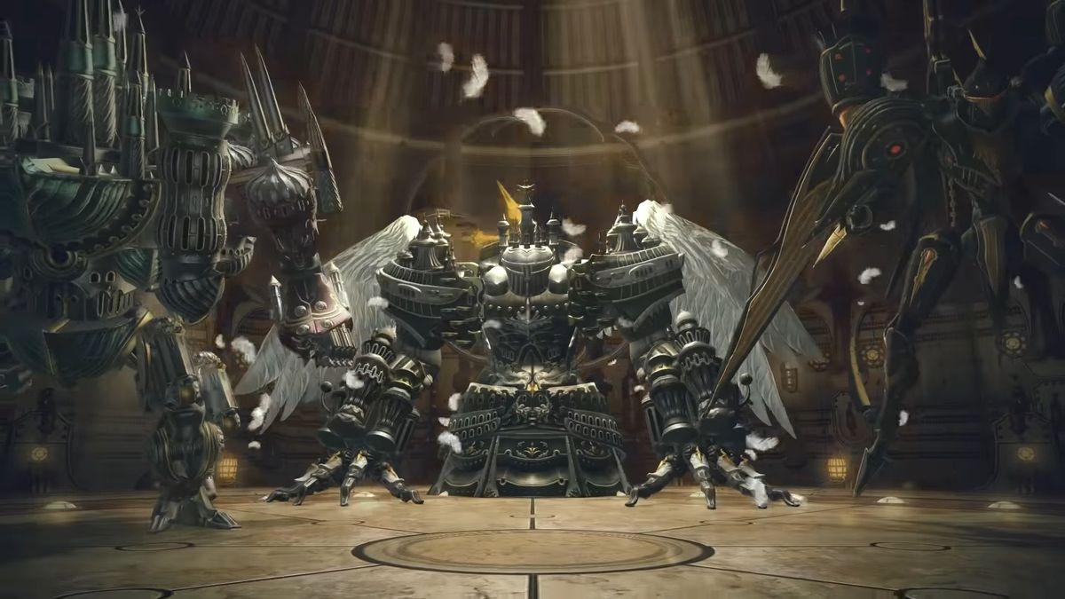 """Brute Justice and Cruise Chaser stand around Alexander Prime as if to say, """"You just rolled into the wrong neighborhood."""""""
