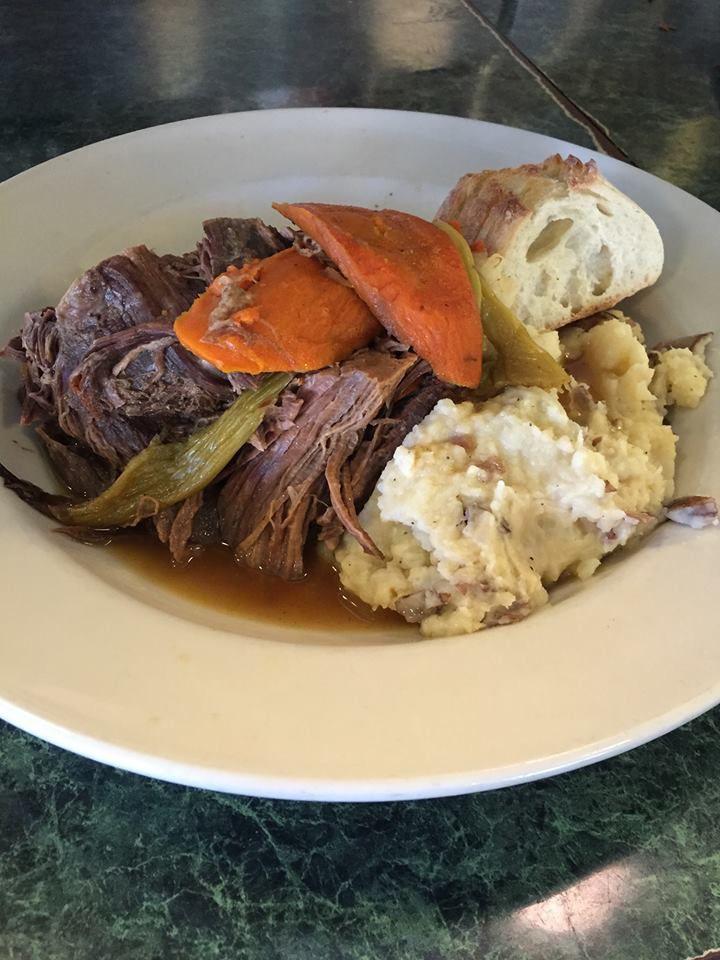 Pot roast at Metro Diner