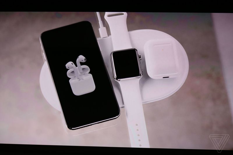 Instead The Company Gave Us A Preview Its Working On Charging Mat Called AirPower Thatll Charge Not Only IPhones But Also Apple Watch And