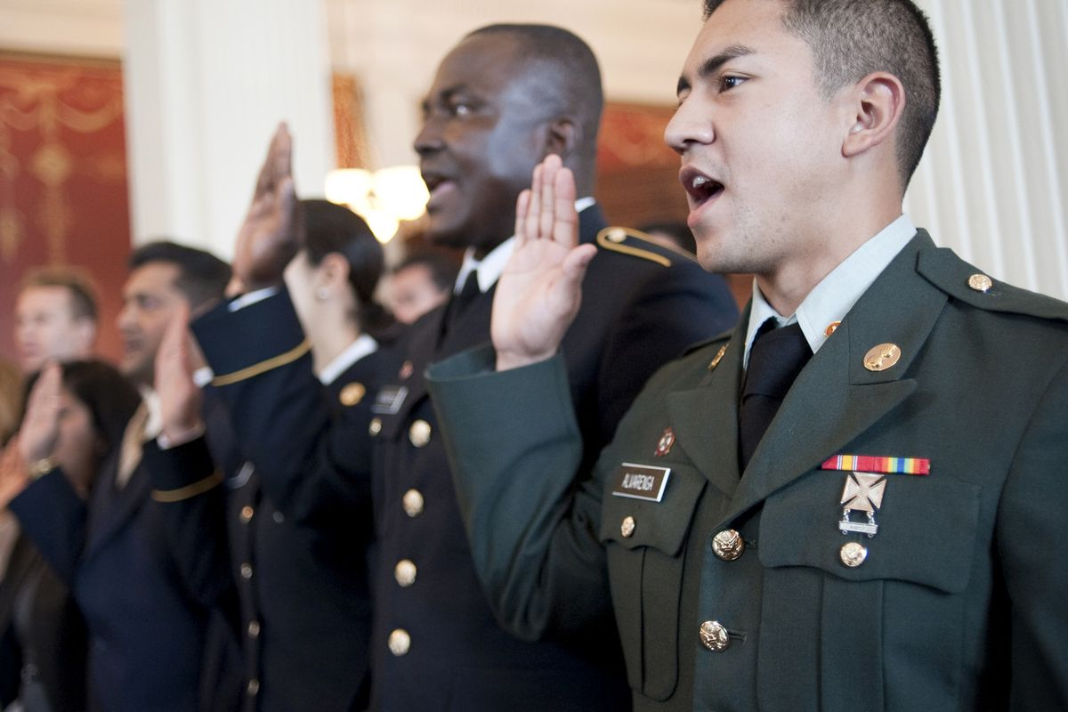 This sort of naturalization ceremony could be happening more often.