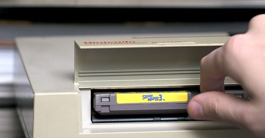 Should you blow into your video game cartridges?
