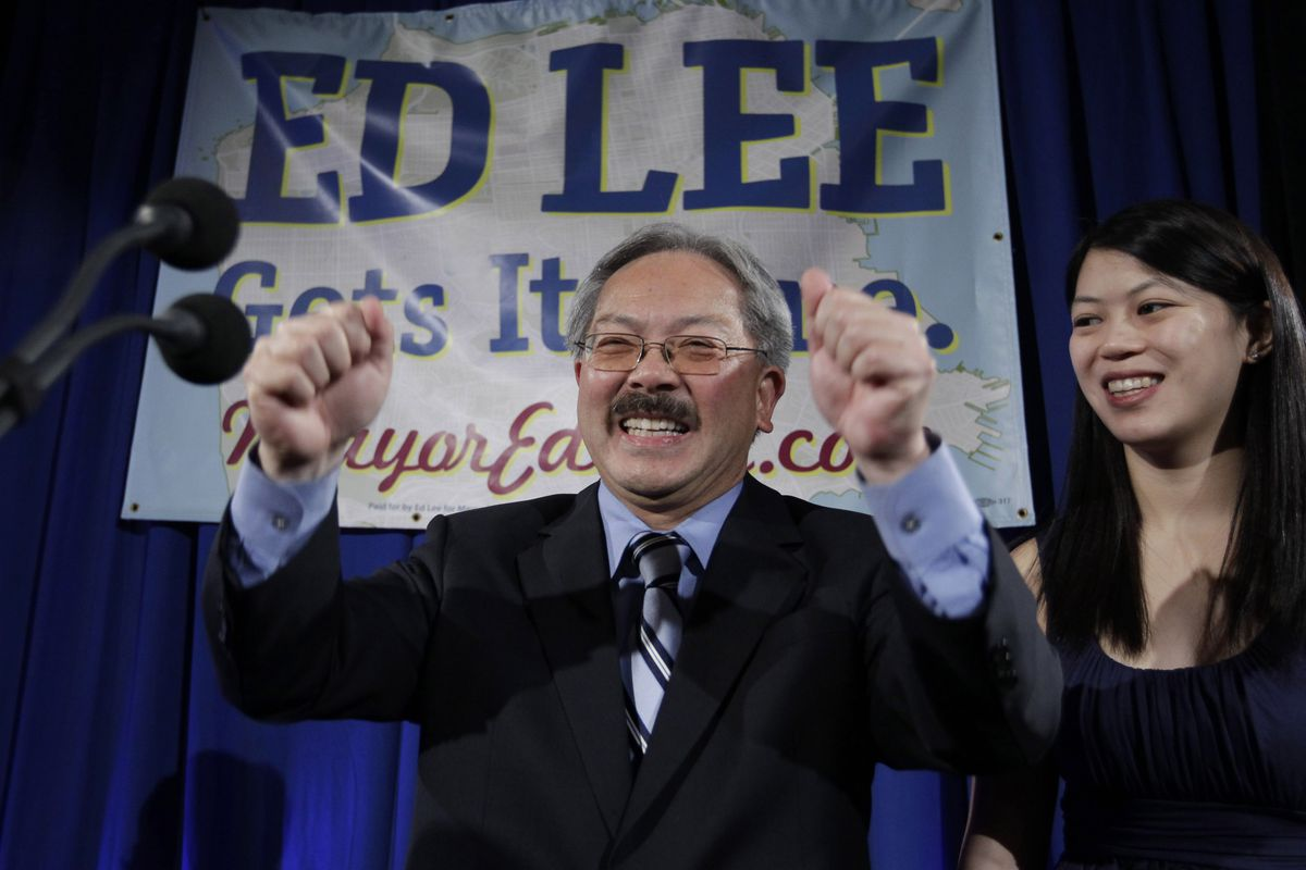 Silicon Valley sends condolences after SF mayor Ed Lee's sudden death