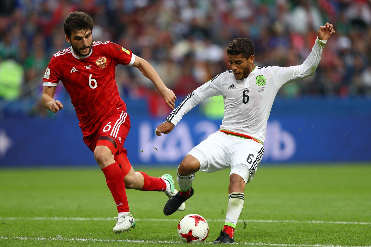 Mexico v Russia: Group A - FIFA Confederations Cup Russia 2017