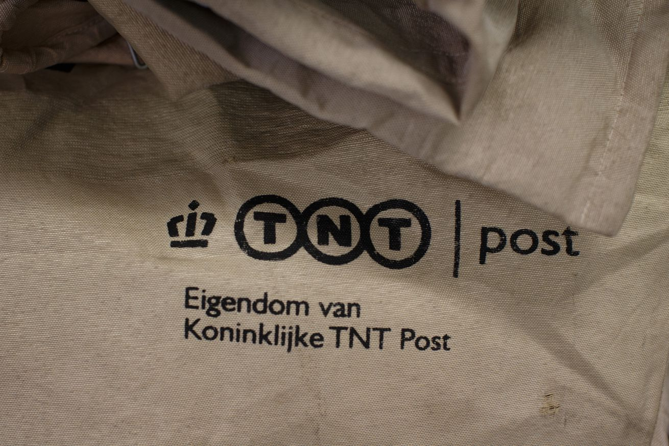 Inside The Dutch Mail Group PostNL Sorting Office