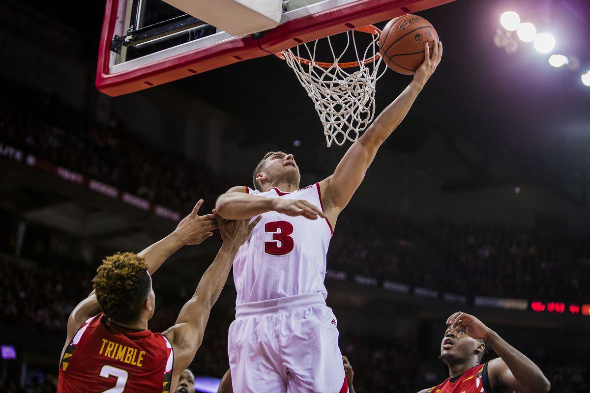 NCAA BASKETBALL: JAN 09 Maryland at Wisconsin