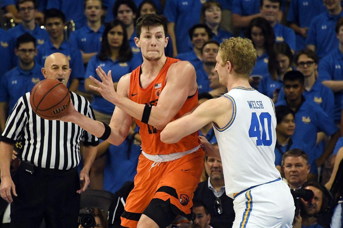 NCAA Basketball: Oregon State at UCLA