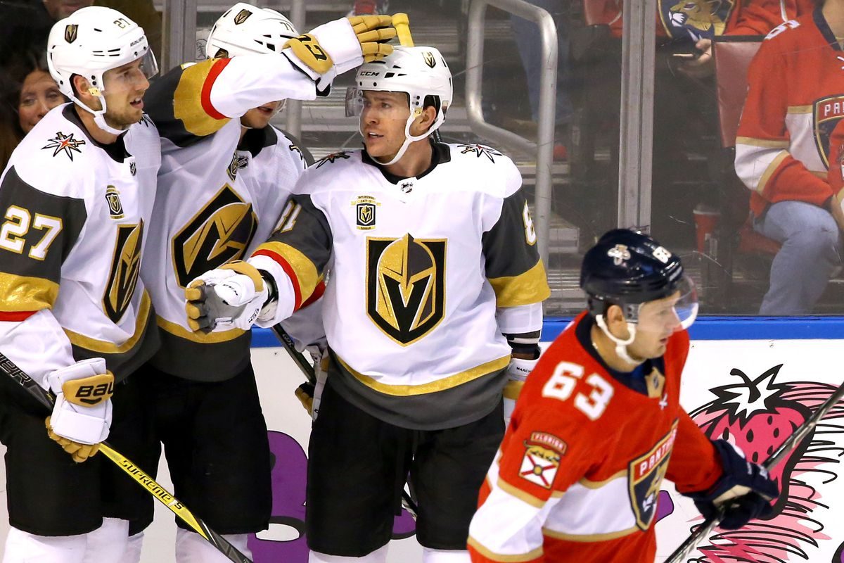NHL: Vegas Golden Knights at Florida Panthers