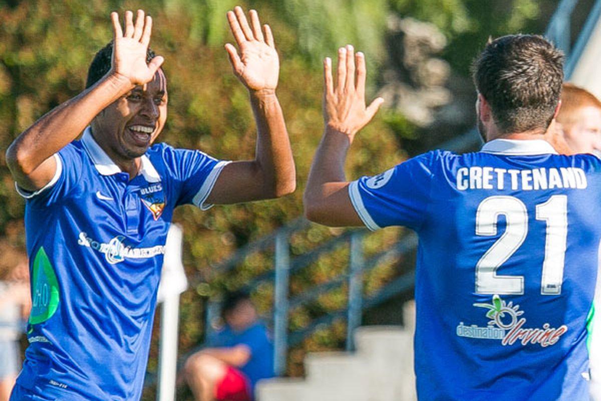 All smiles for Ramirez (left).