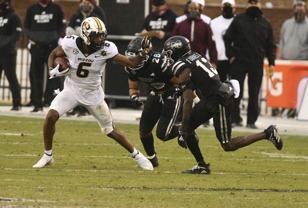 NCAA Football: Missouri at Mississippi State