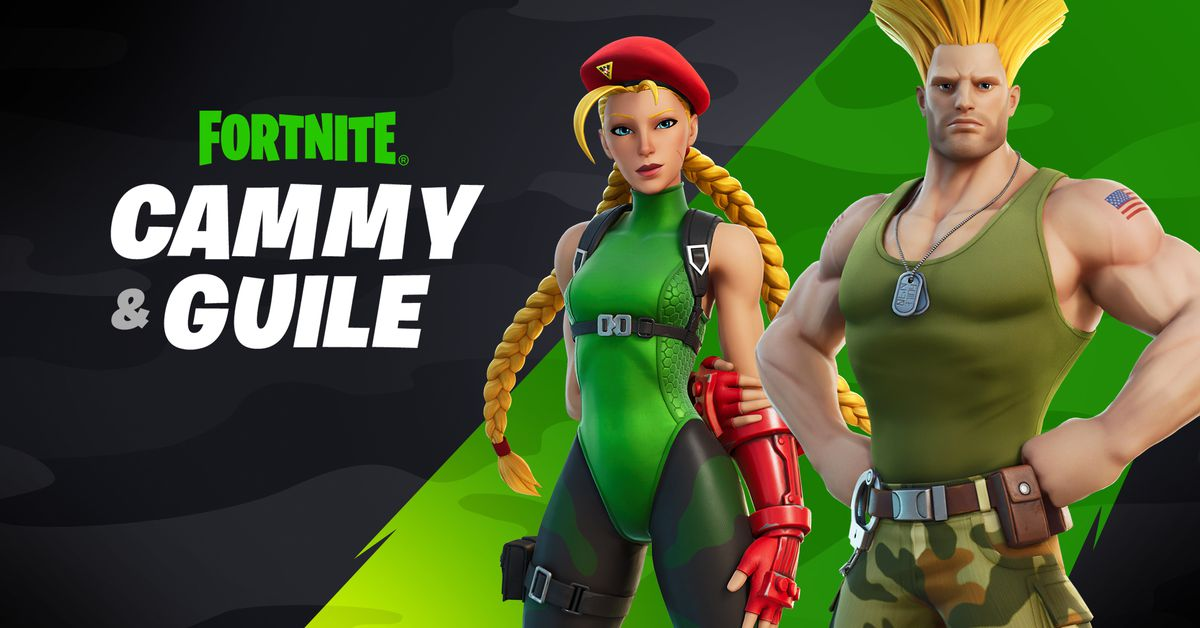 street-fighters-guile-and-cammy-are-coming-to-fortnite
