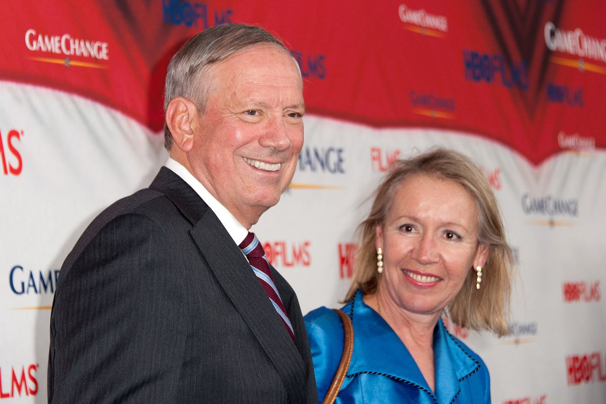 """George Pataki, at the premiere of the """"Game Change"""" movie in 2012. He did not change the game that year."""