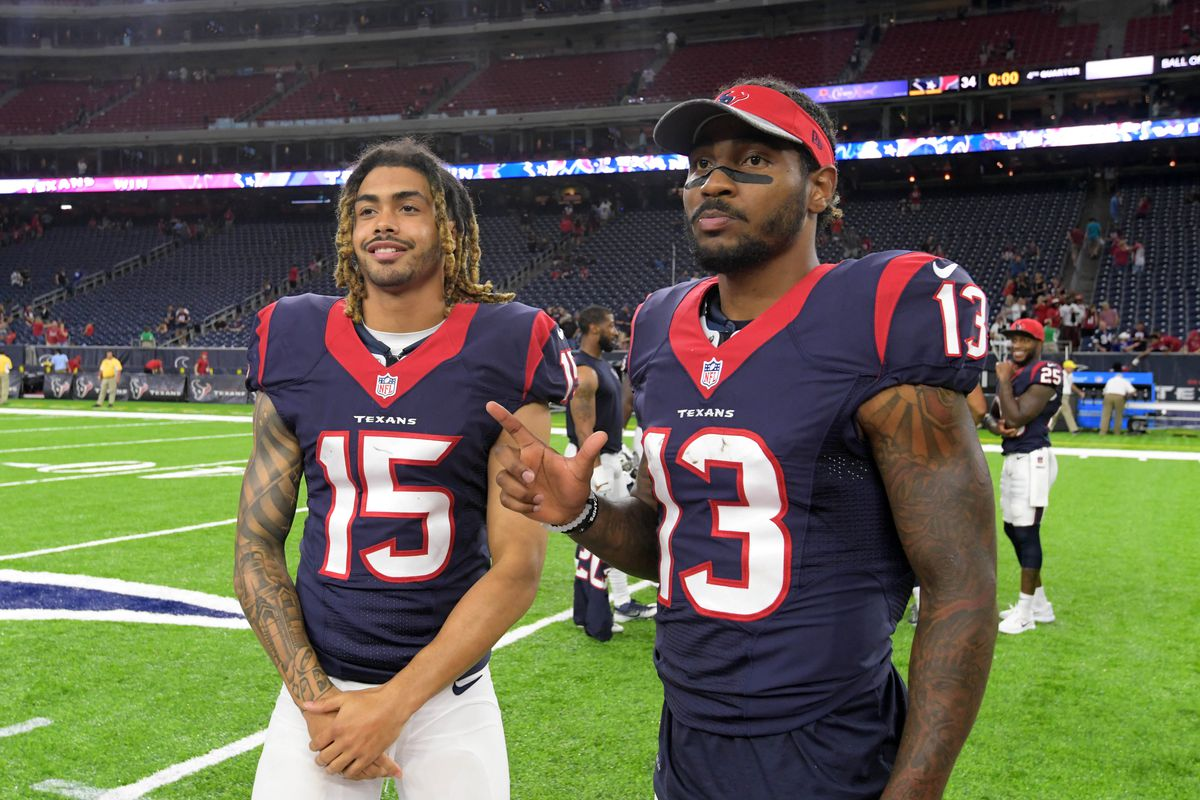 Rookie stand-outs Will Fuller and Braxton Miller showing they belong in Houston