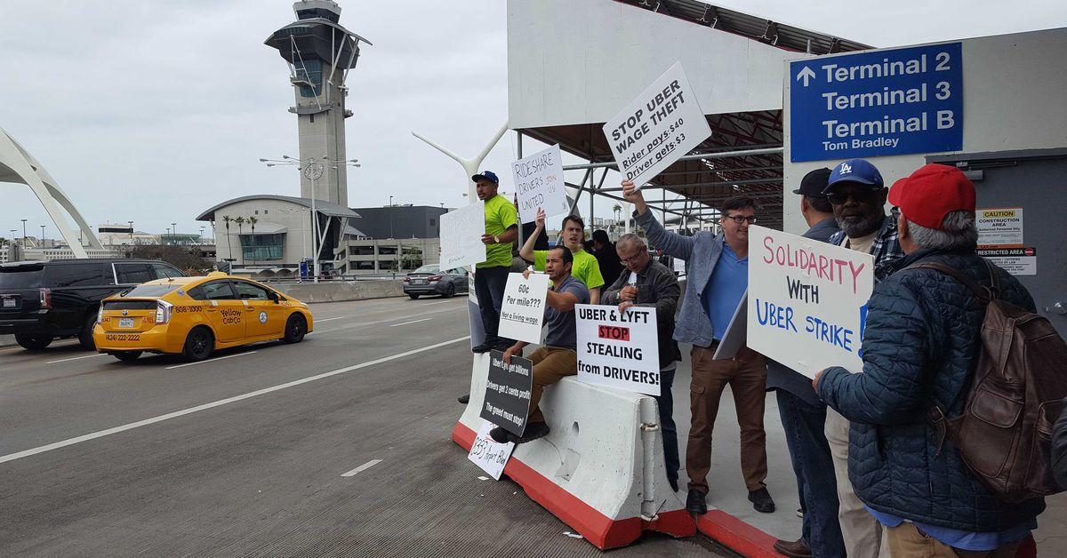 Lyft New Orleans >> Uber drivers will strike at LAX before IPO - Curbed LA