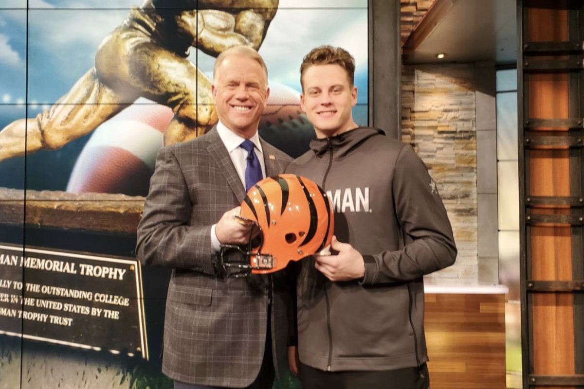 "Boomer Esiason on Joe Burrow: ""I don't see how the Bengals don't ..."