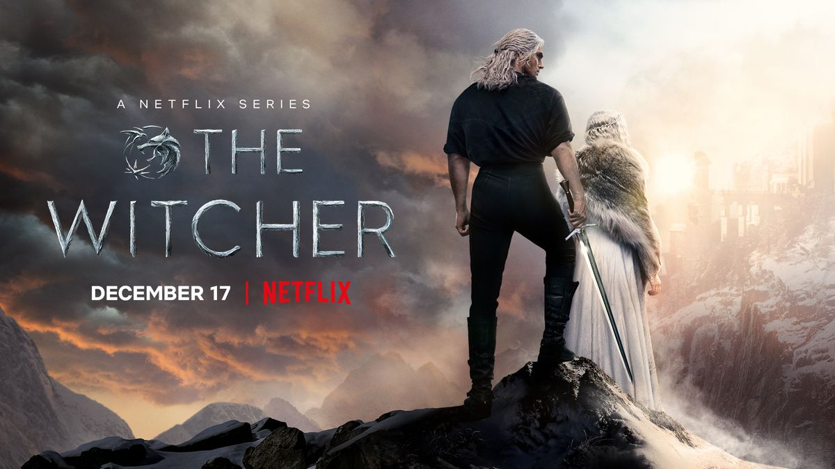 Netflix's release date poster for The Witcher season 2