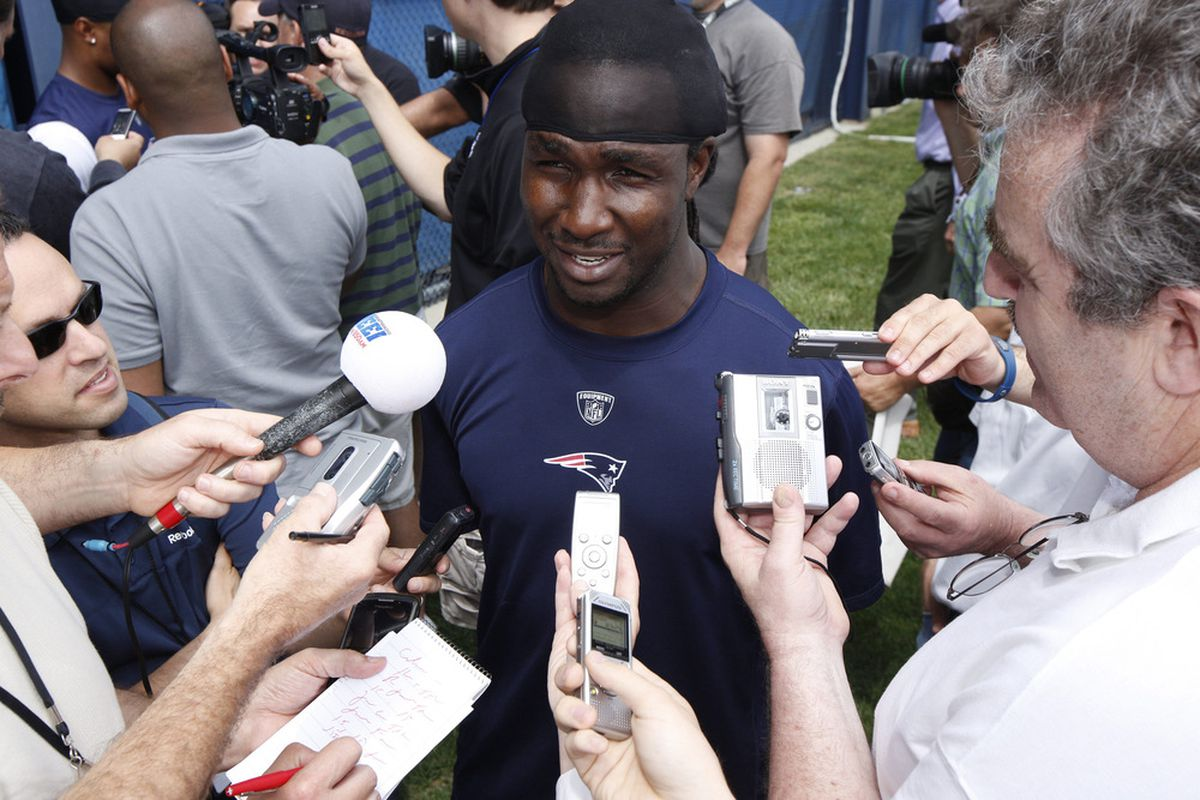 In a surprise move, the Patriots announced the release of RB Joseph Addai this afternoon.