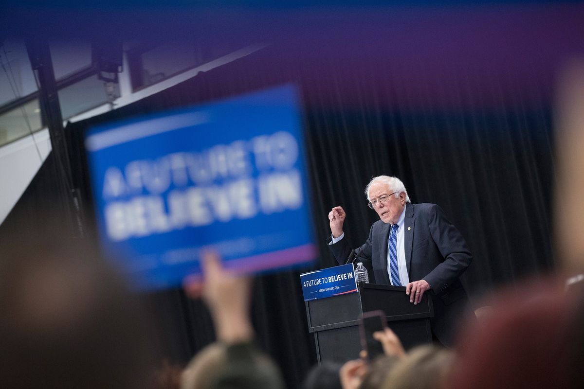 Bernie Sanders is appealing to the superdelegates to help his campaign.