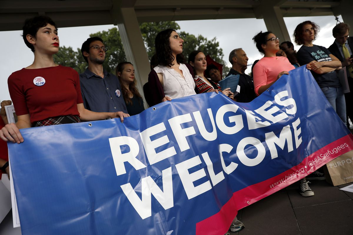 Rally For Refugees Calls On Trump To Increase Number Of Refugees To U.S.