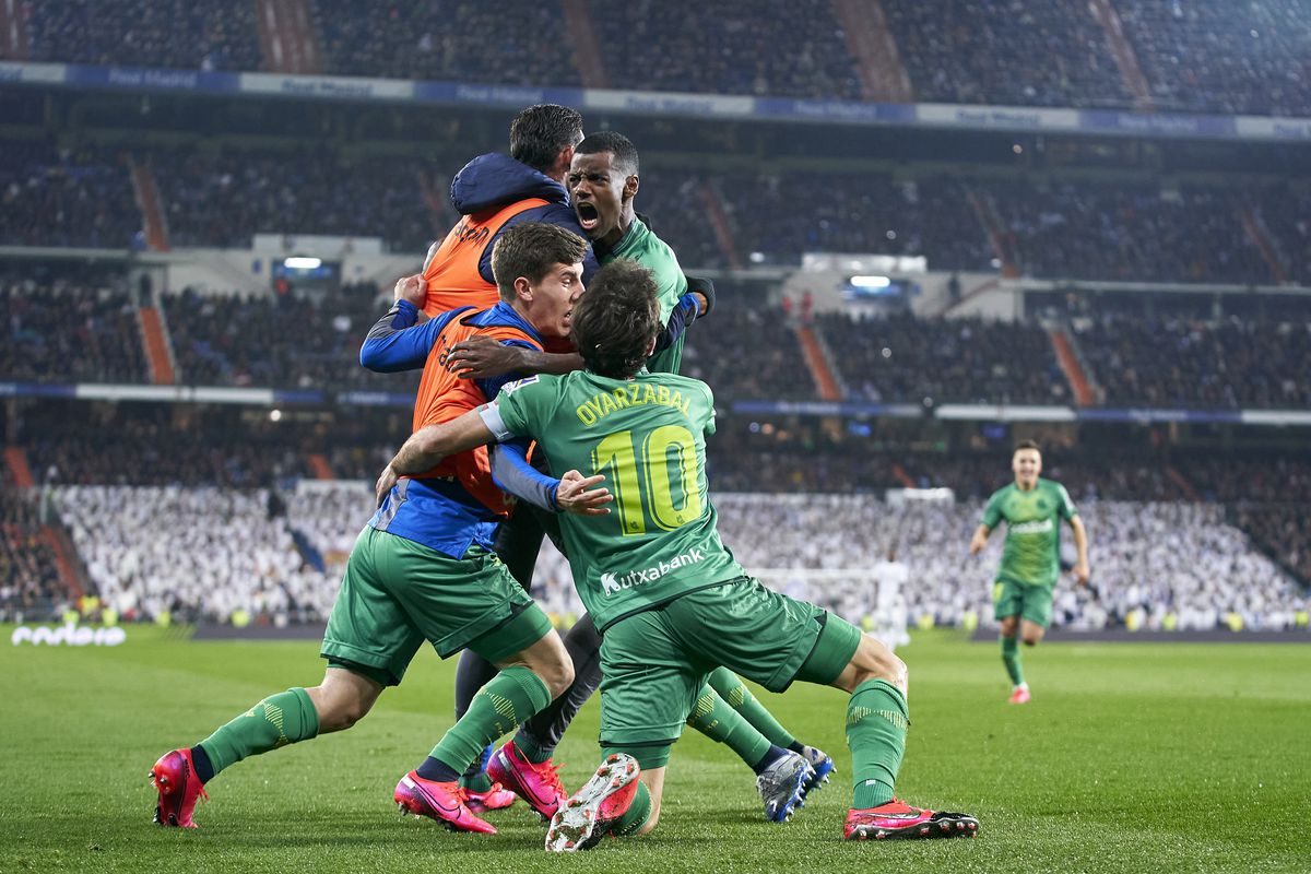 Immediate Reaction Real Madrid 3 4 Real Sociedad Copa Del Rey