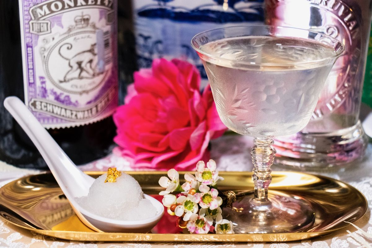 The Crazy Rich Lychee martini from Daijoubu