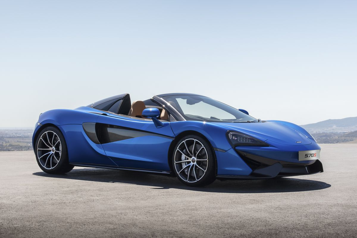mclaren s new 570s spider is its most attainable