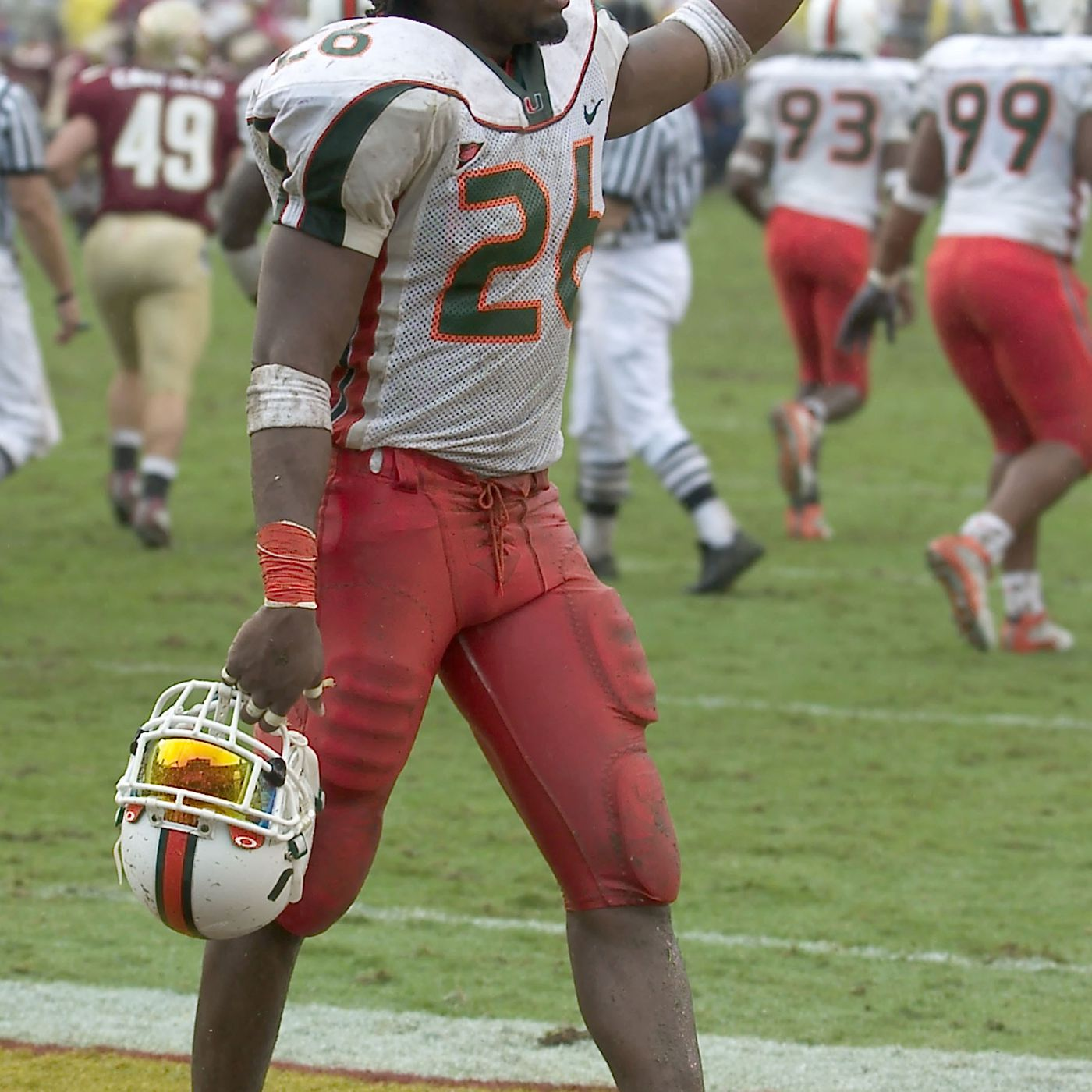 online retailer bb3cc 132bd Remembering Sean Taylor, Forever A Miami Hurricane. - State ...