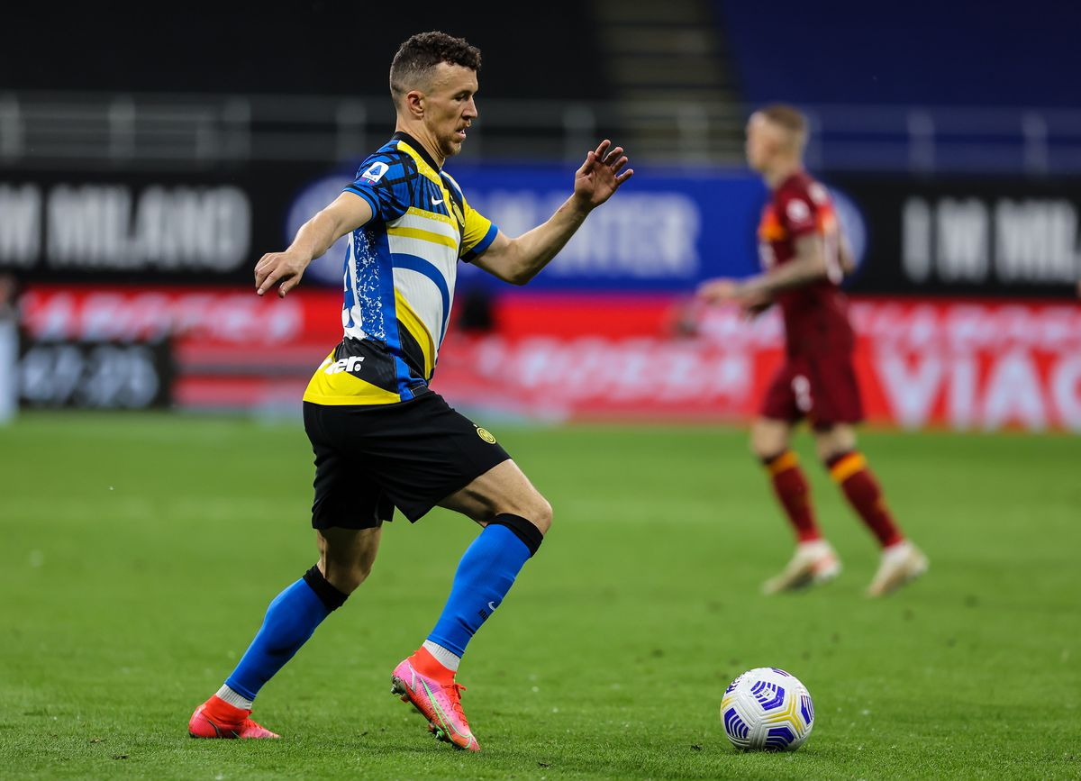 Ivan Perisic of FC Internazionale in action during the Serie...