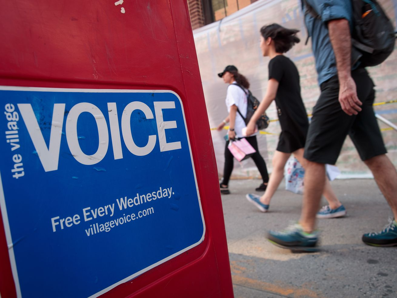 The Village Voice, a vital New York institution, is no more.