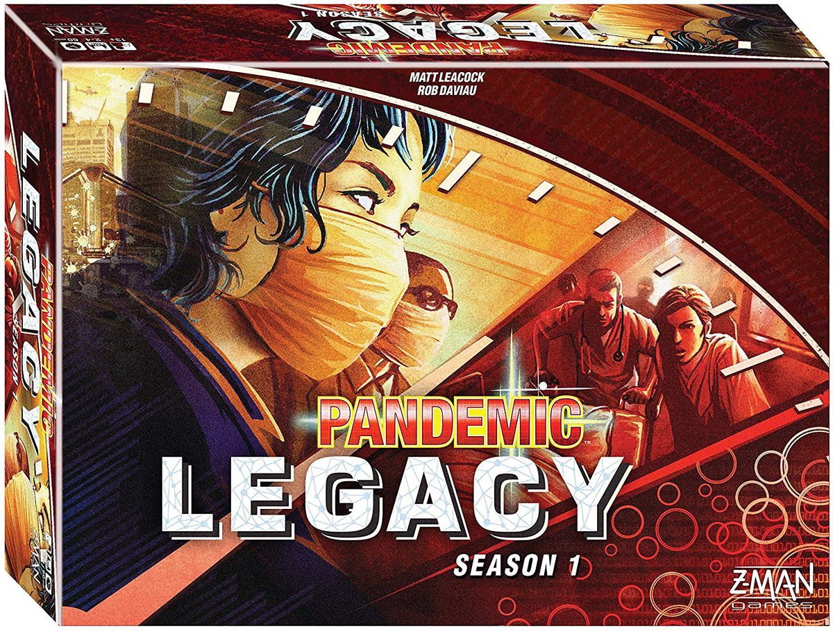 Pandemic Legacy might be the best board game ever made.