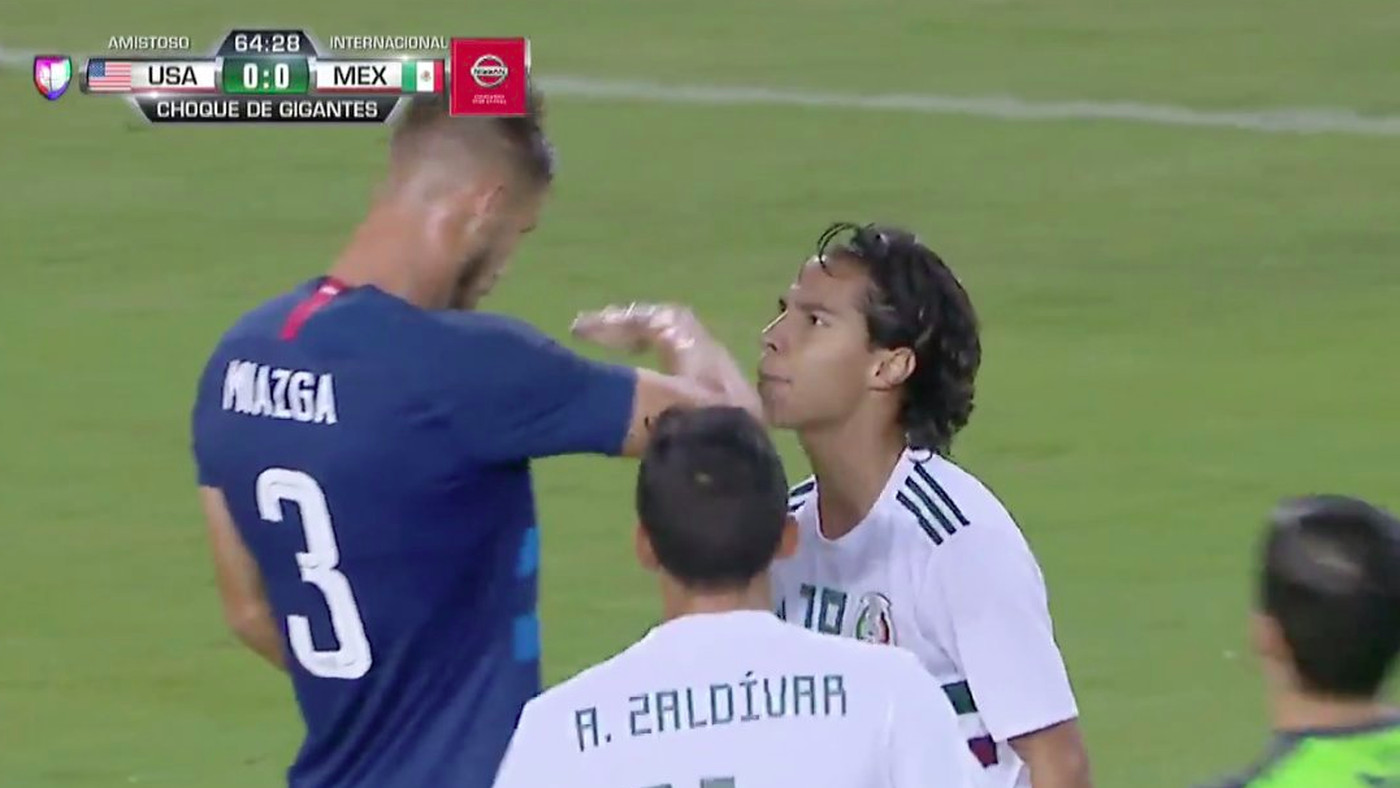 Usa Vs Mexico Usmnt Star Matt Miazga Shames Player For Being Short Sbnation
