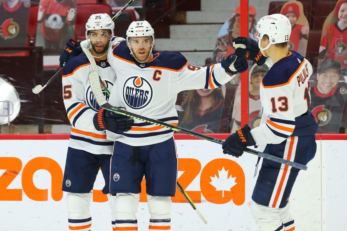 Edmonton Oilers v Ottawa Senators