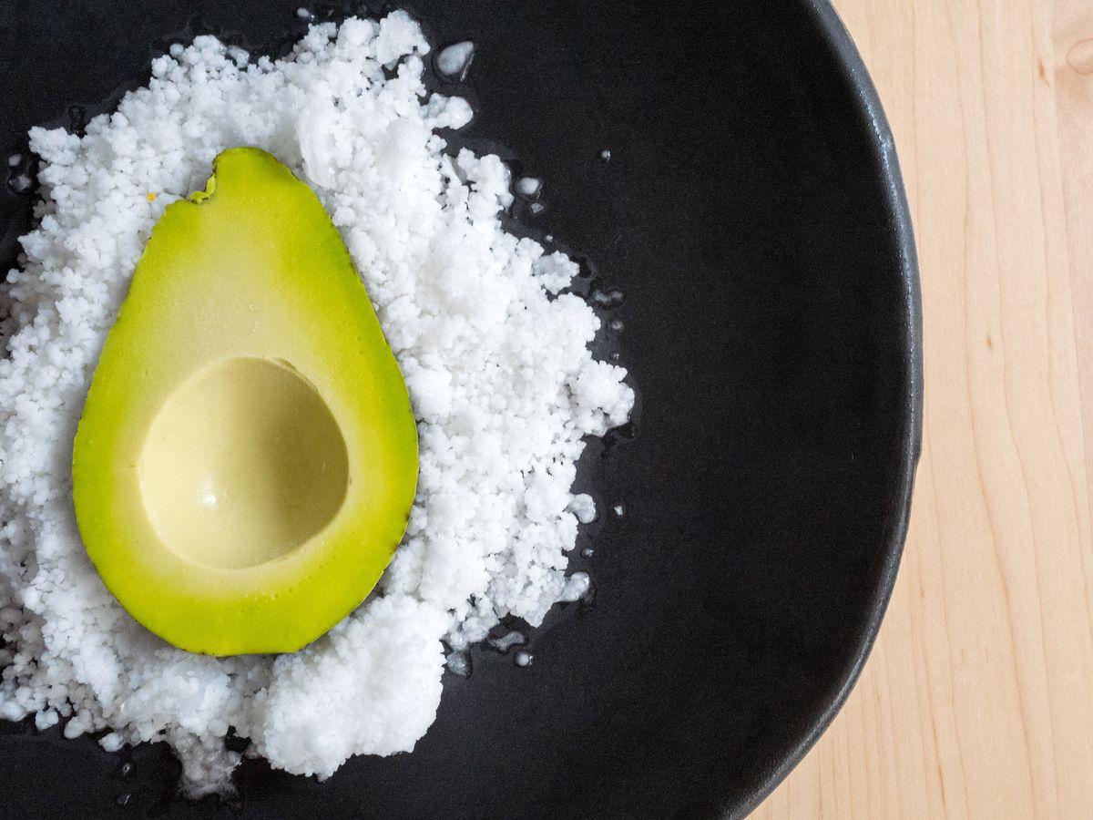 Empellón's avocado dessert