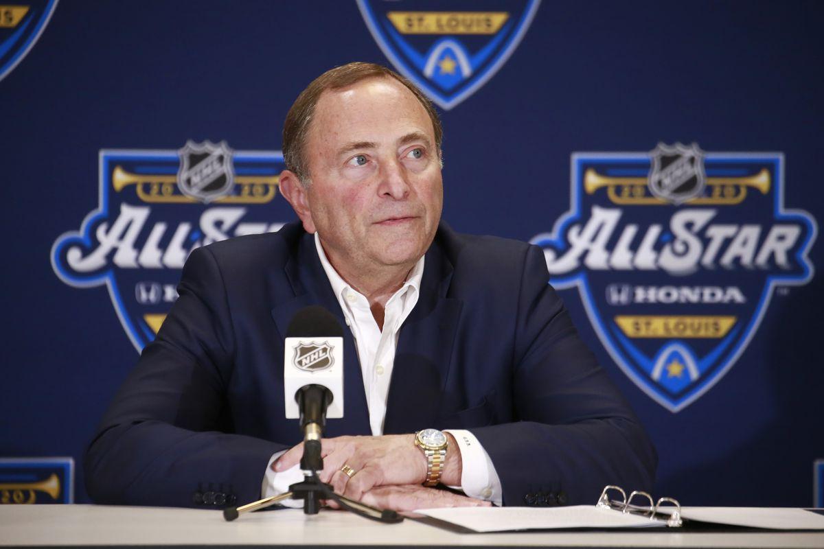 2020 NHL All-Star - Commissioner Gary Bettman Media Availability