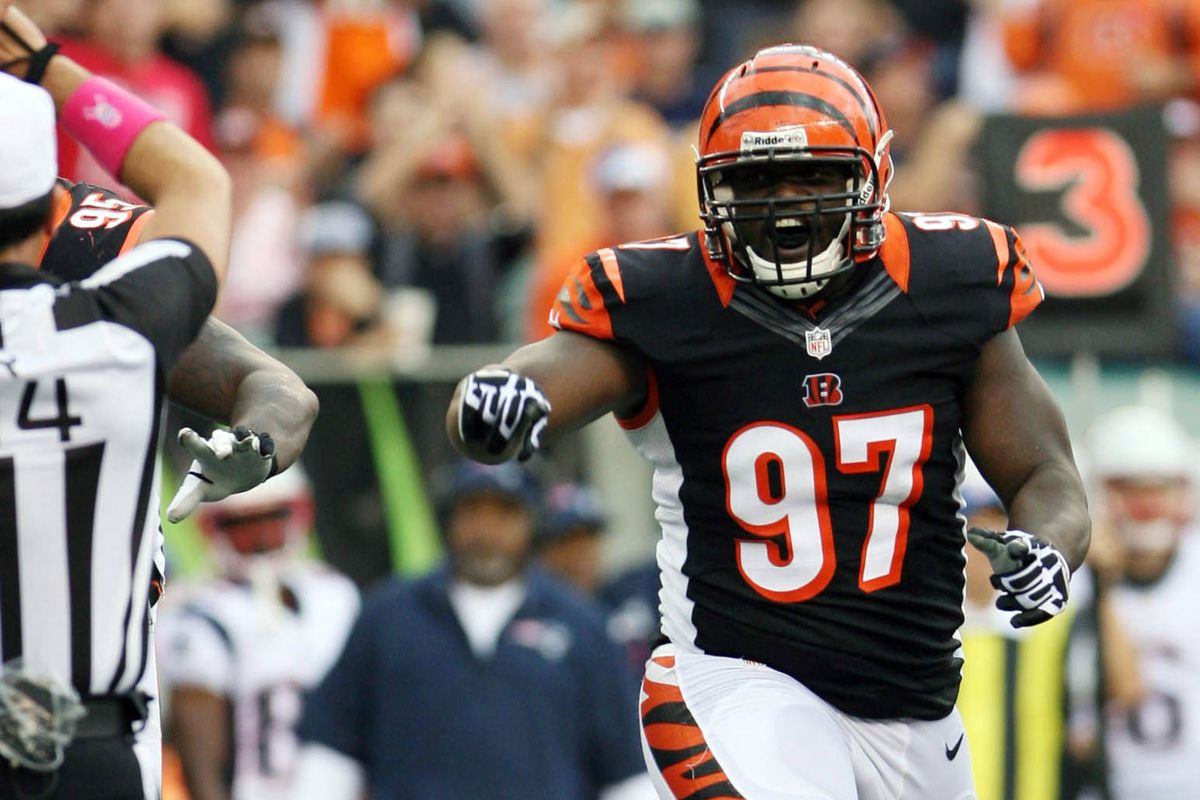 Bengals DT Geno Atkins with an impact against the Ravens Cincy
