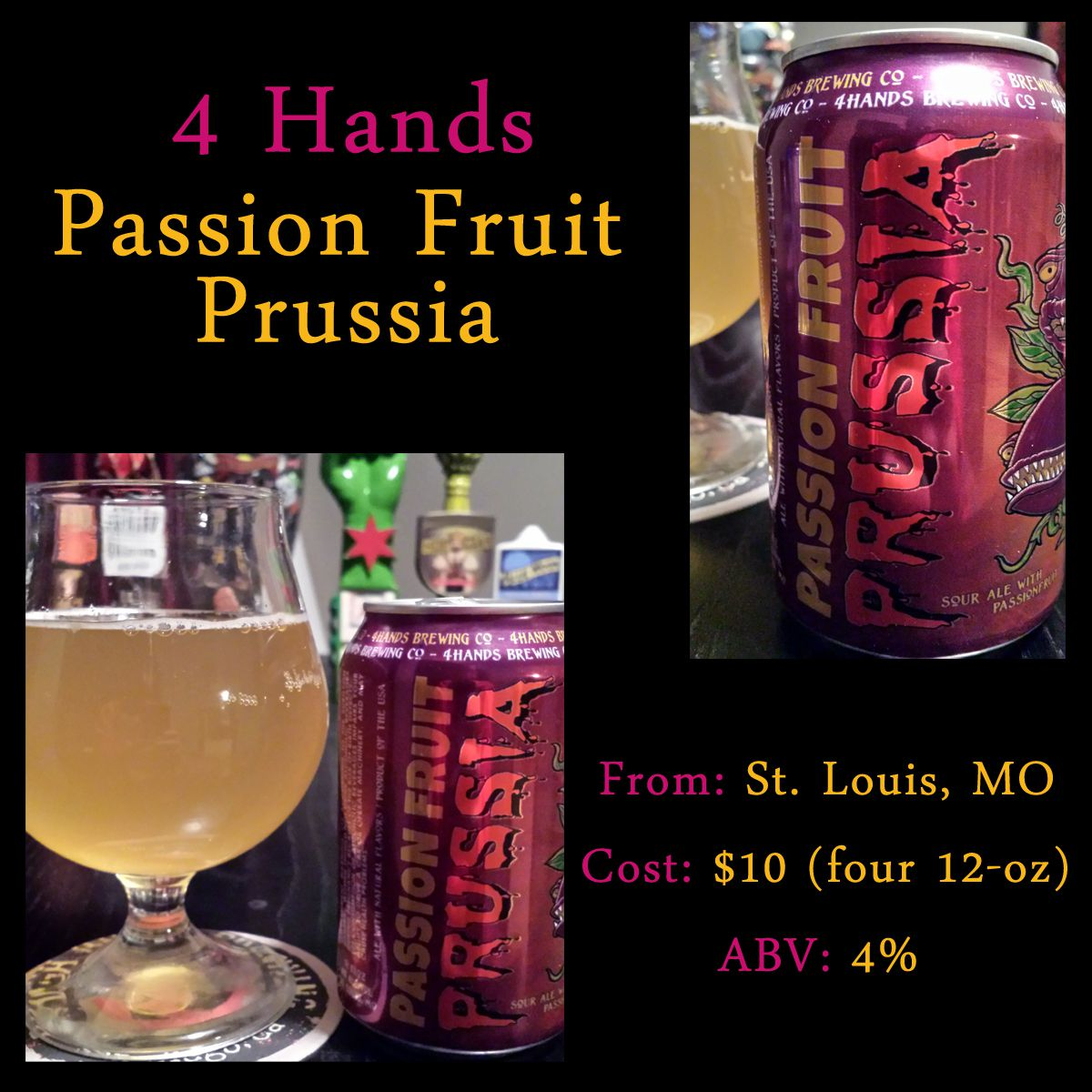 passion fruit prussia