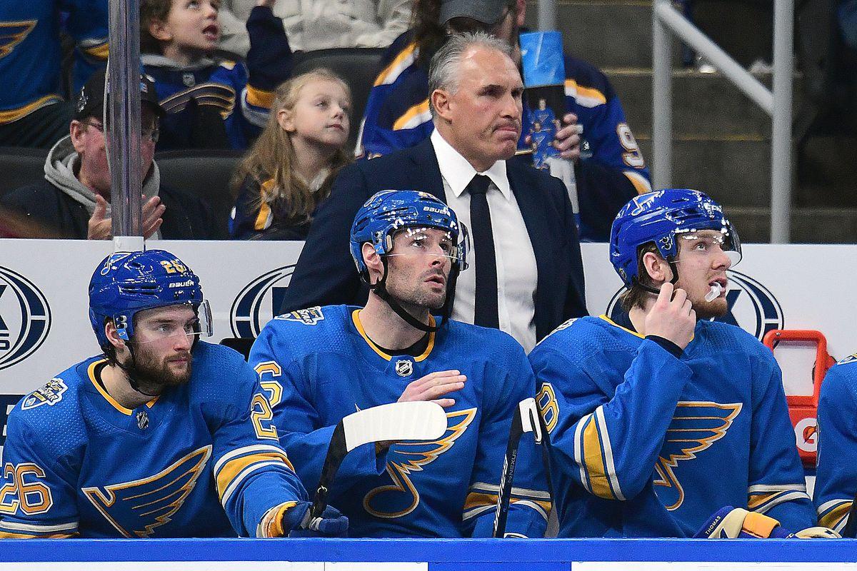 NHL: DEC 07 Maple Leafs at Blues